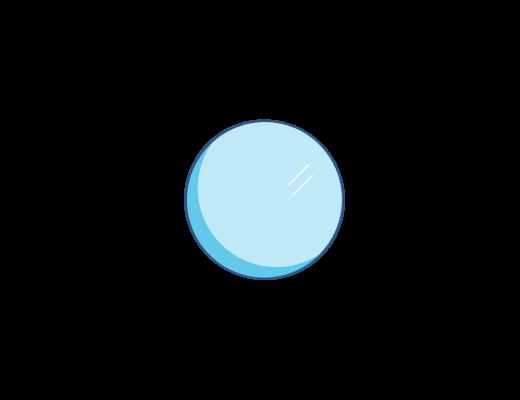 Blåtonet ACUVUE® kontaktlinse