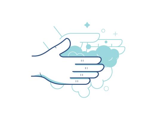 Vask hænder før håndtering af kontaktlinser