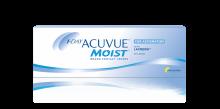 1-DAY ACUVUE® MOIST  til BYGNINGSFEJL  – daglig kontaktlinse