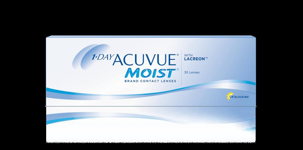 1-DAY ACUVUE® MOIST -   daglige kontaktlinser til nærsynethed eller langsynethed